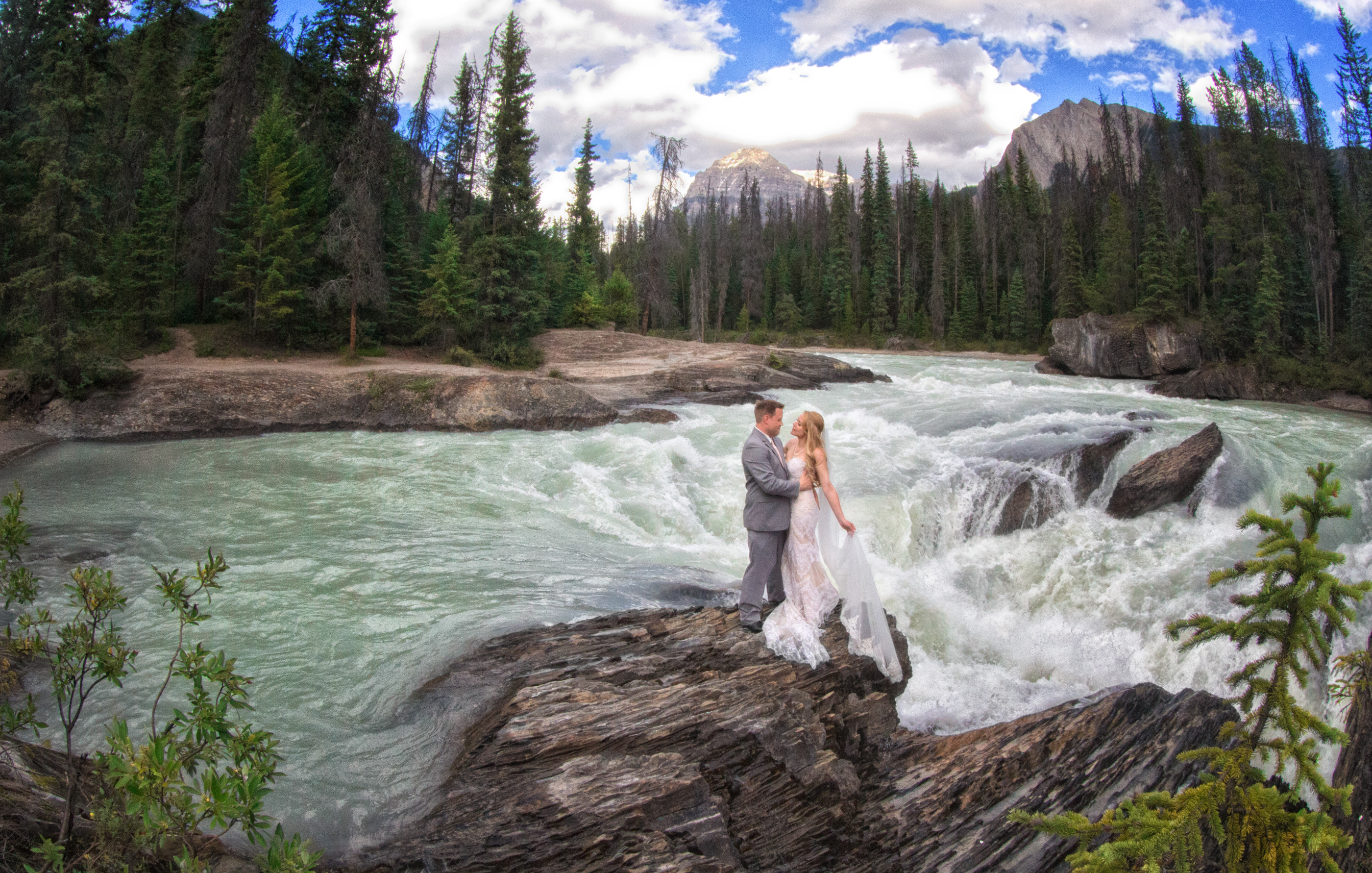 Emerald Lake Wedding, Banff Photographers, Shirleen Burnett