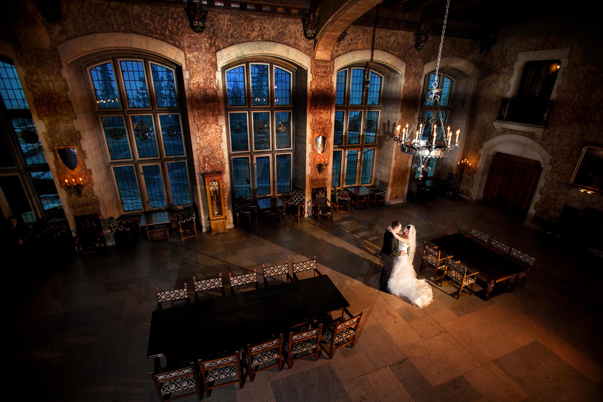 Mt. Stephans Hall, Banff Weddings