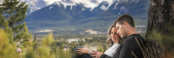 Canmore wedding photographers,Burnett Photography, Engagement Pictures