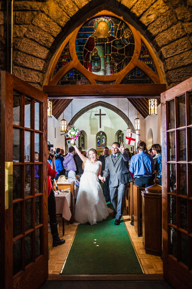 banff wedding, St. Georges-in-the-Pines church, Banff