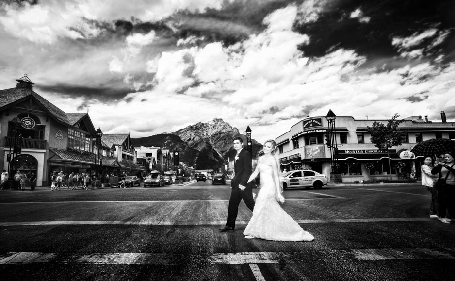 Banff weddings, wedding photographers in Banff