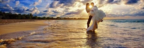 Newly Weds in Paradise, Destination Weddings, Burnett Photography