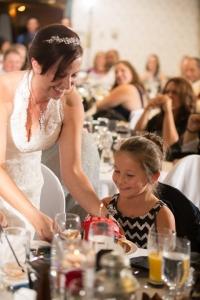 bride & guest, Lake Louise wedding, Lake Louise wedding photographers, Banff wedding photographer