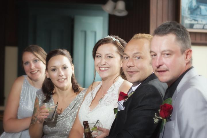 Wedding Party at The Station Restaurant, Banff wedding photographer, Burnett photography, Lake Louise wedding