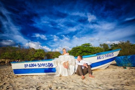 Trash the Dress, Punta Cana, Burnett Photography