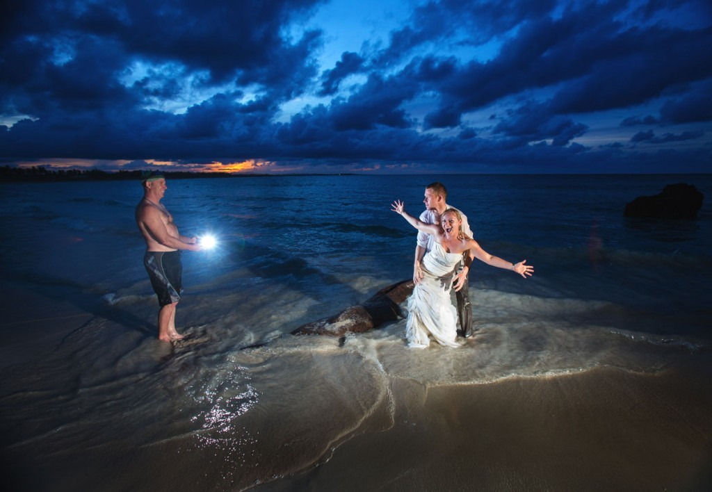 Destination weddings, trash the dress session, Punta Cana wedding