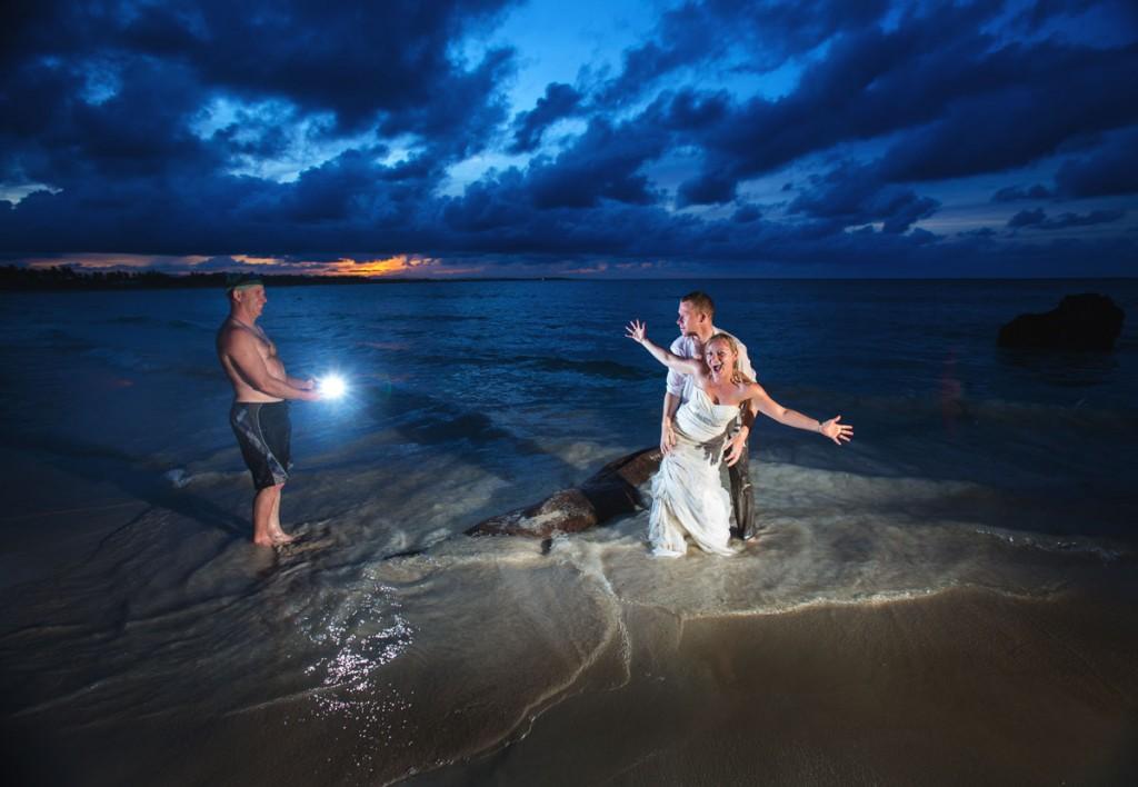 Destination weddings, trash the dress session, Punta Cana wedding