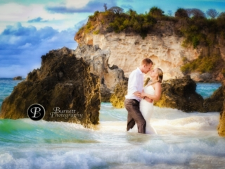 Trash the Dress, Destination weddings, Punta Cana, Banff wedding photographer Burnett Photography
