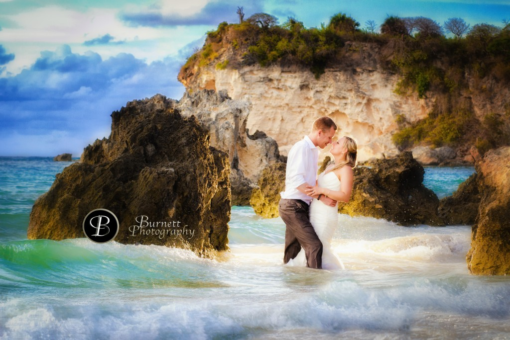 Trash the Dress, Punta Cana, Burnett Photography