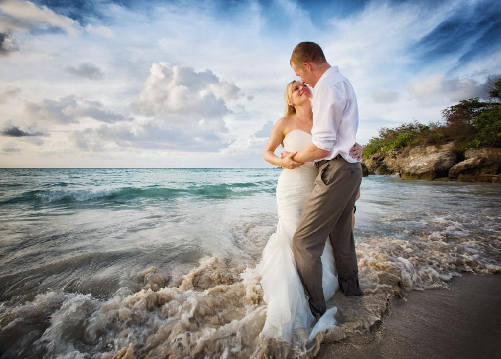 destination weddings, Punta Cana, Trash the Dress Session