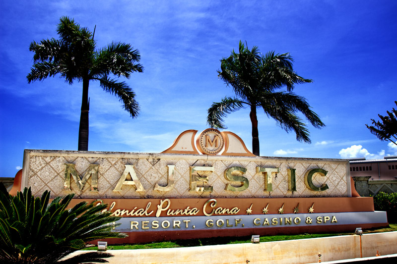 Majestic Elegance Resort reception, Punta Cana, Dominican Republic