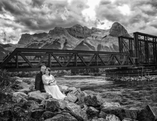 The Engine Bridge, Canmore wedding, Canmore photographers, Banff Photographers, Burnett Photography