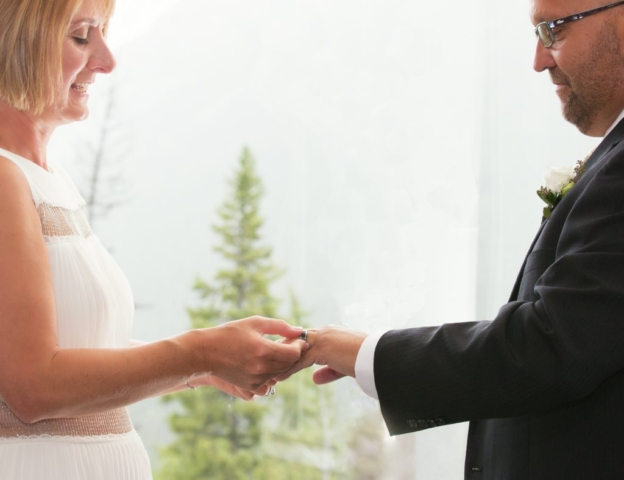 Banff Wedding at the Rimrock Hotel