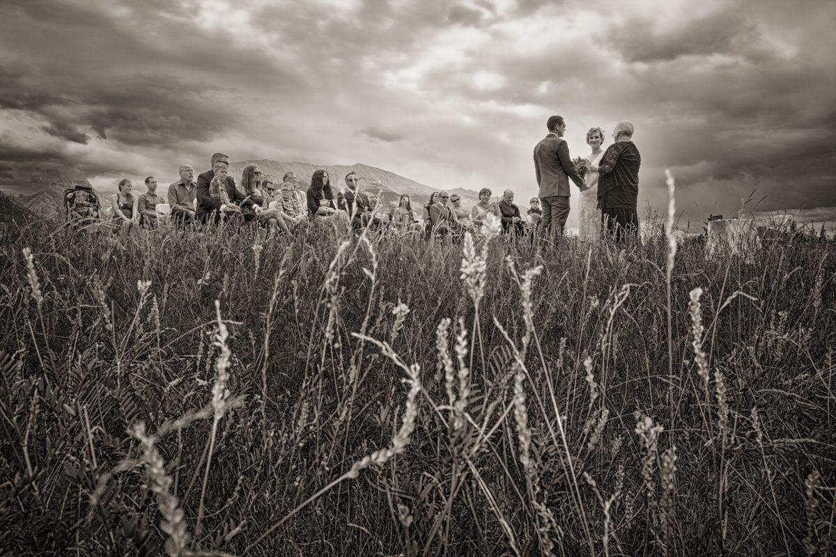 Canmore wedding, Quarry Lake, Burnett Photography