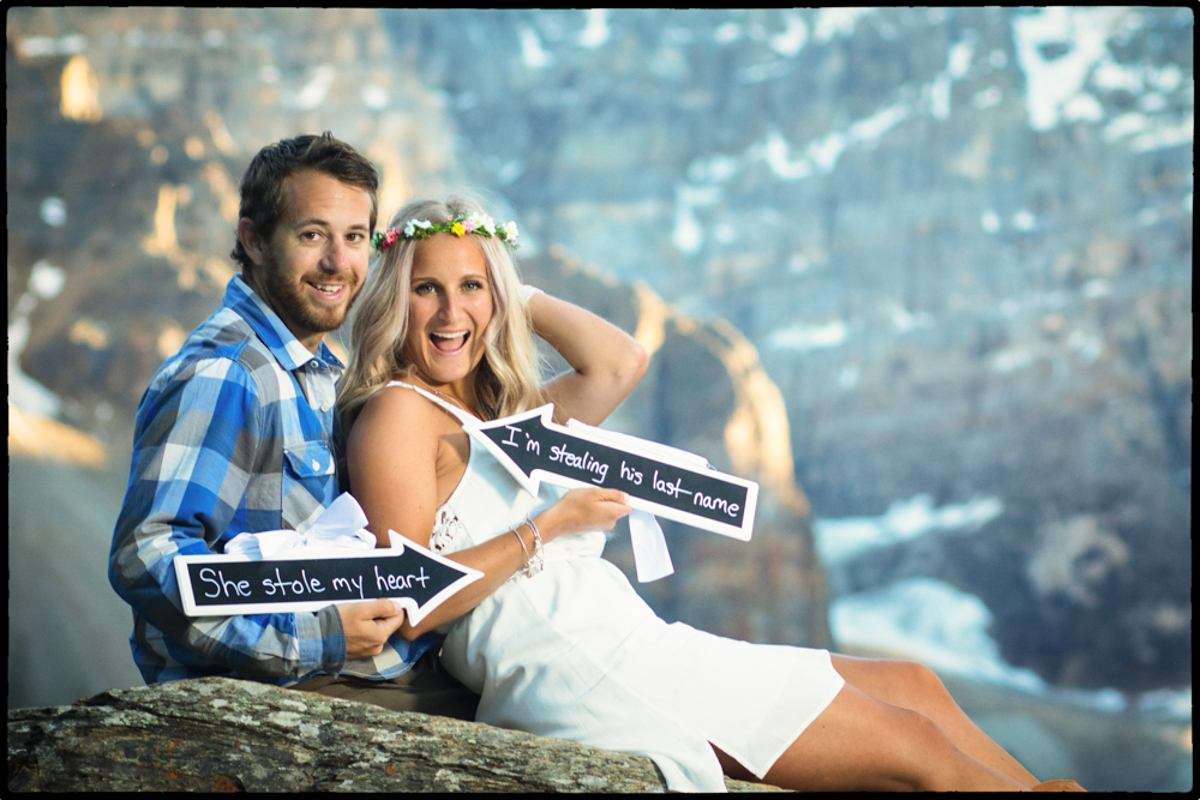 Lake Moraine,Engagement, Burnett Photography