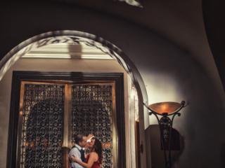 Engagement photos, Fairmont Banff Springs, Banff Photographers, Burnett Photography