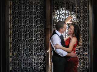 Alhambra Room, Fairmont Banff Springs, Engagement Session, Banff Wedding photographers, Burnett Photography