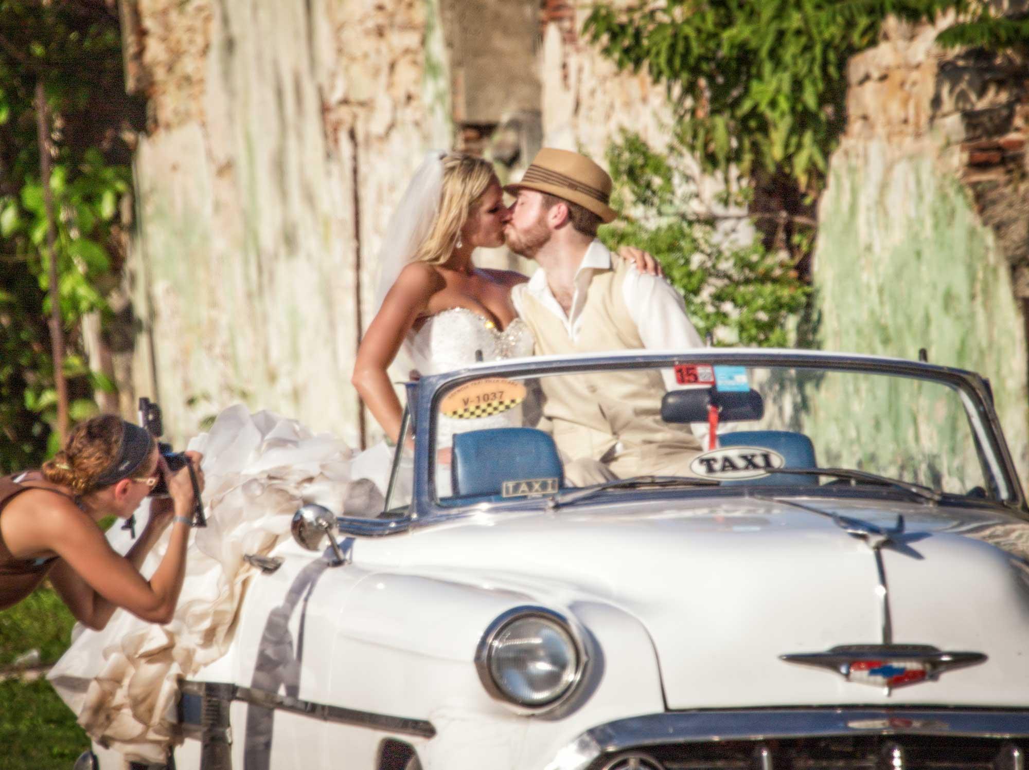 Destination Wedding photographers, Troy & Shirleen Burnett on location in Cuba