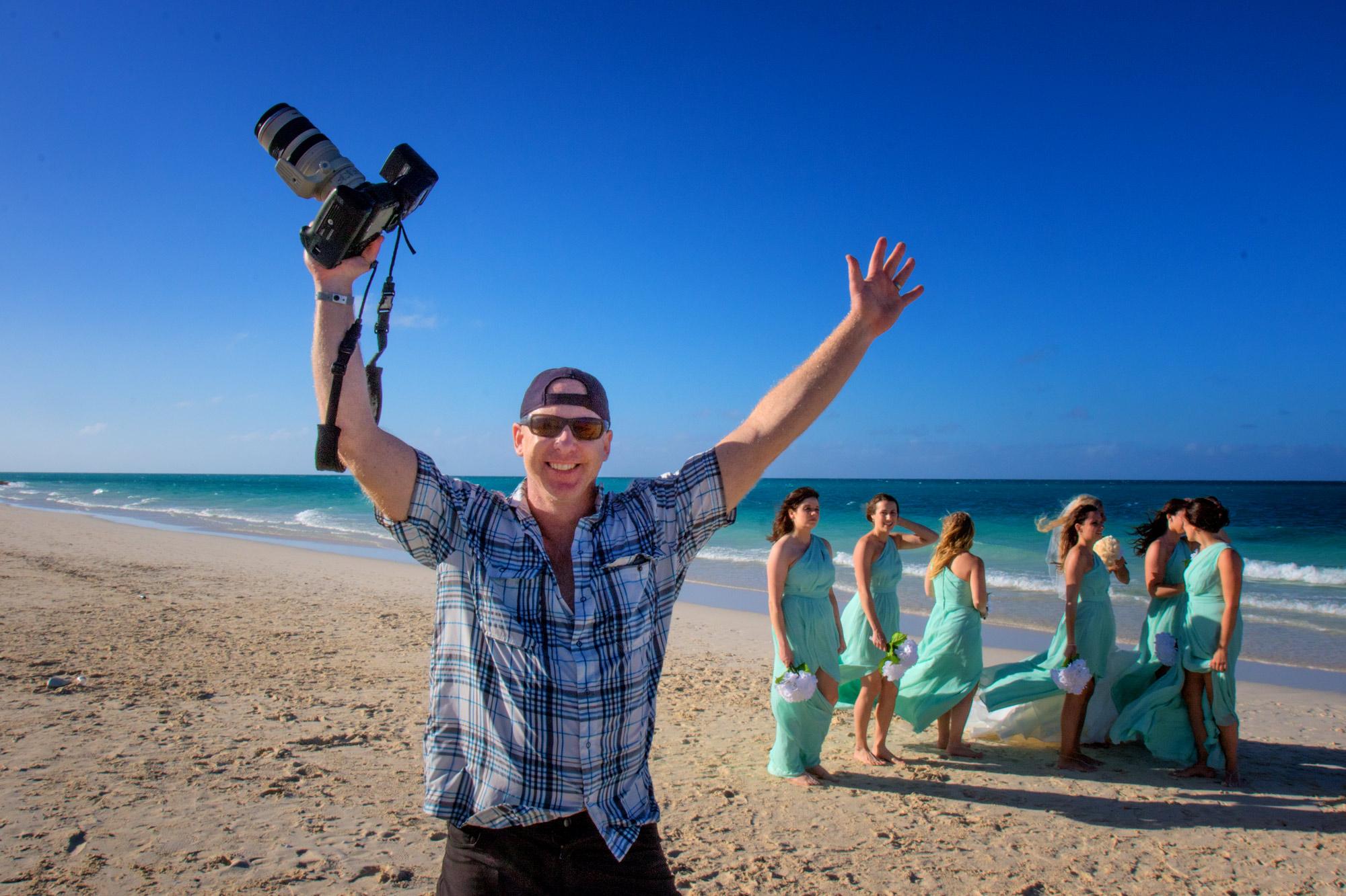 Destination Wedding photographers, Troy & Shirleen Burnett on location in Dominican Republic