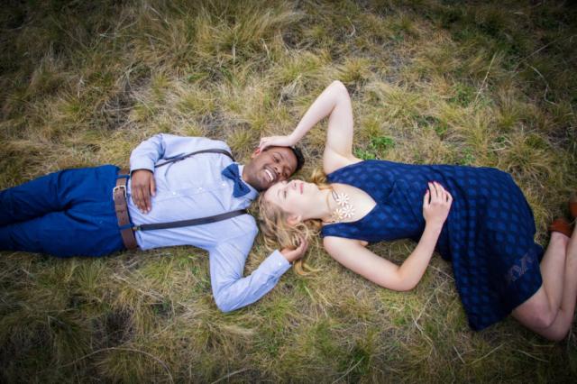 Newly engaged couple, Canmore Banff wedding photographers, Burnett Photography