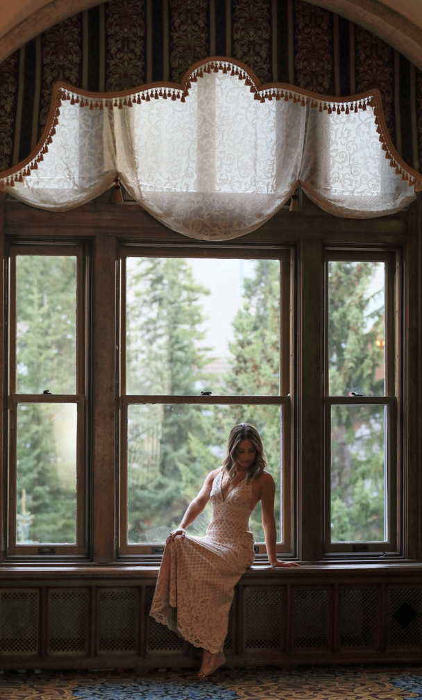 Fairmont Banff Springs, engagement pictures, Banff wedding photographers, Burnett Photography.