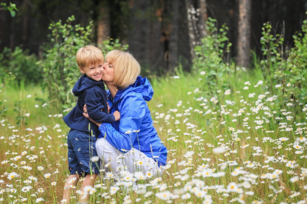 Family Portrait Photography in Banff, Johnson Lake,Banff photographers, Burnett Photography
