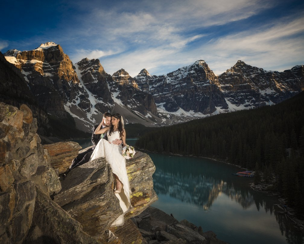 Fairmont Chateau Lake Louise Wedding, Banff wedding photographers, Burnett Photography.