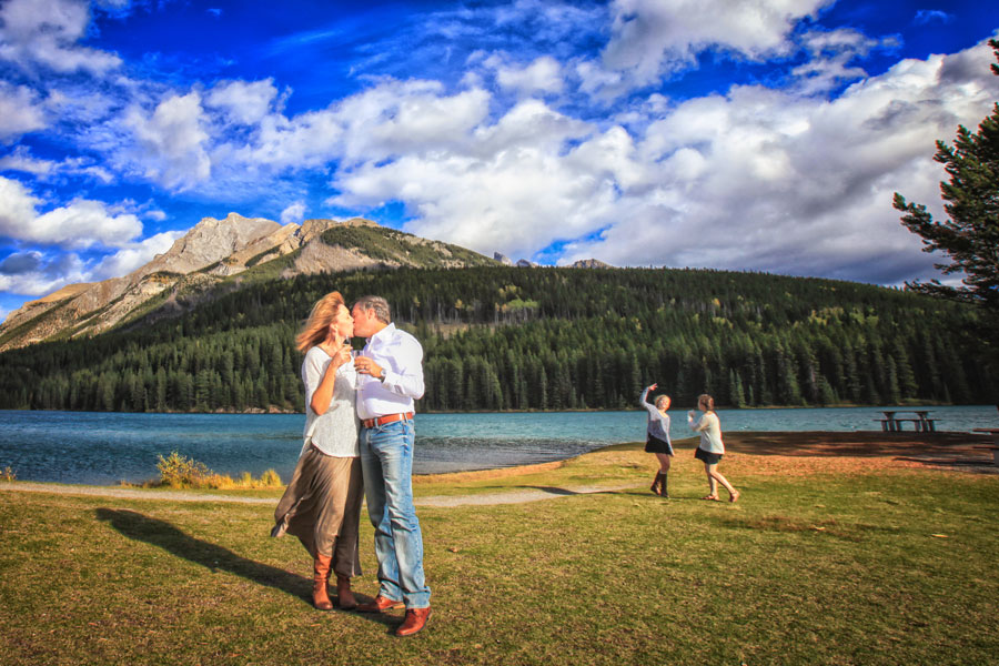 Banff photographers |Burnett Photography | Reviews from clients., Johnson Lake, Banff