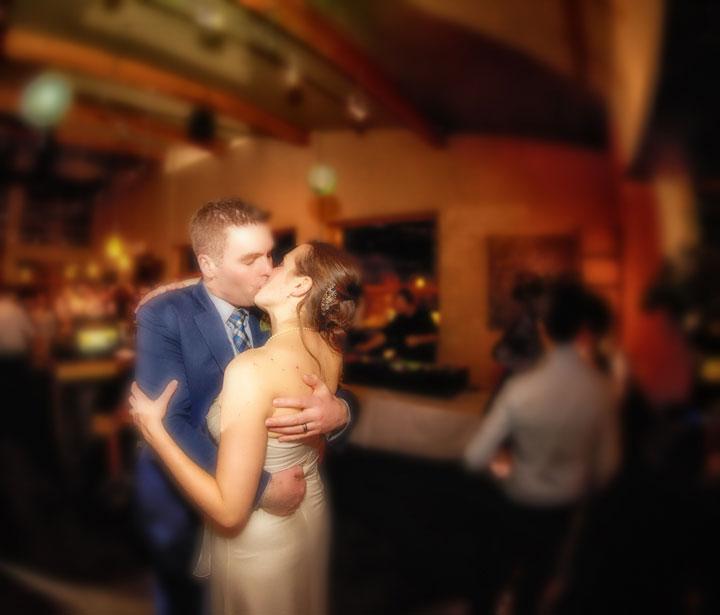 weddings in banff: the bison restaurant, banff wedding venues
