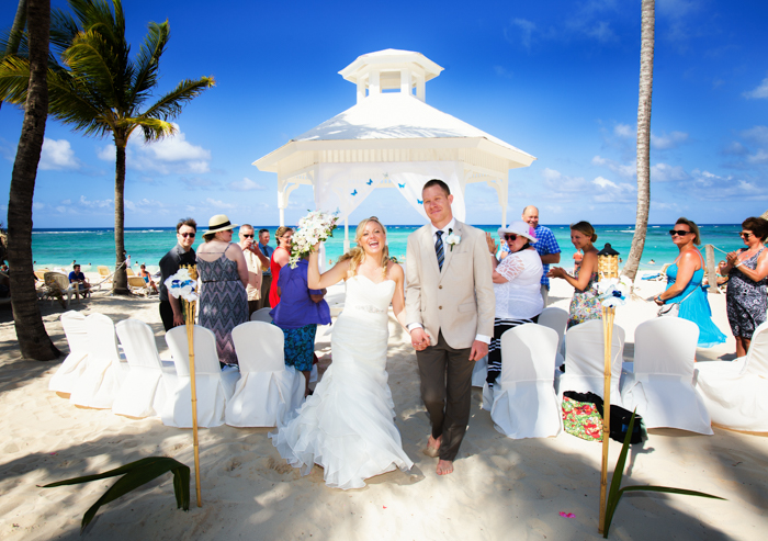 Tropical wedding, Punta Cana