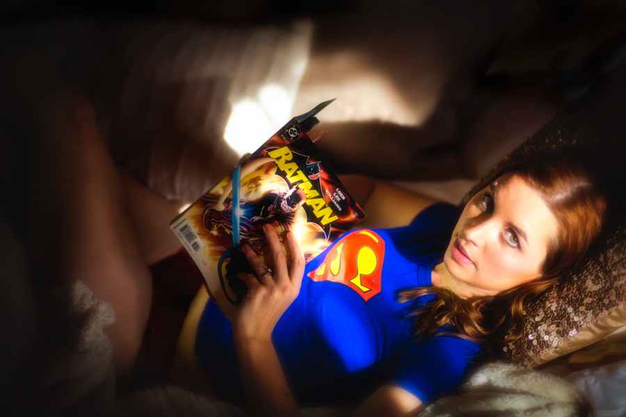 Boudoir Marvel Comic book fantasy 1