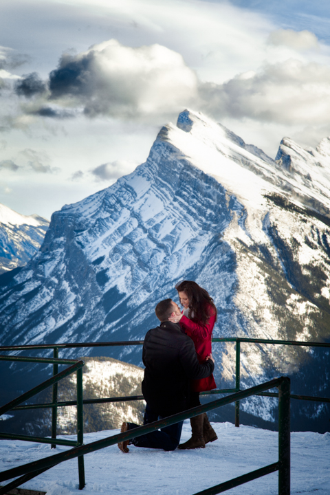 Marriage Proposal at Mt. Norquay