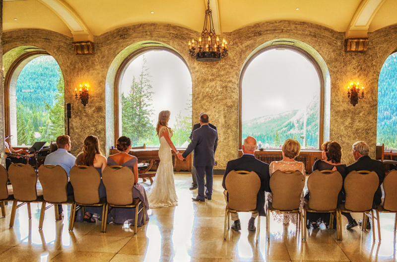 Fairmont Banff Springs Wedding, Rhea & Jeff