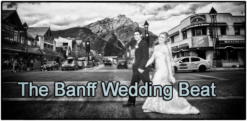 Banff Photographers, Banff Wedding Beat