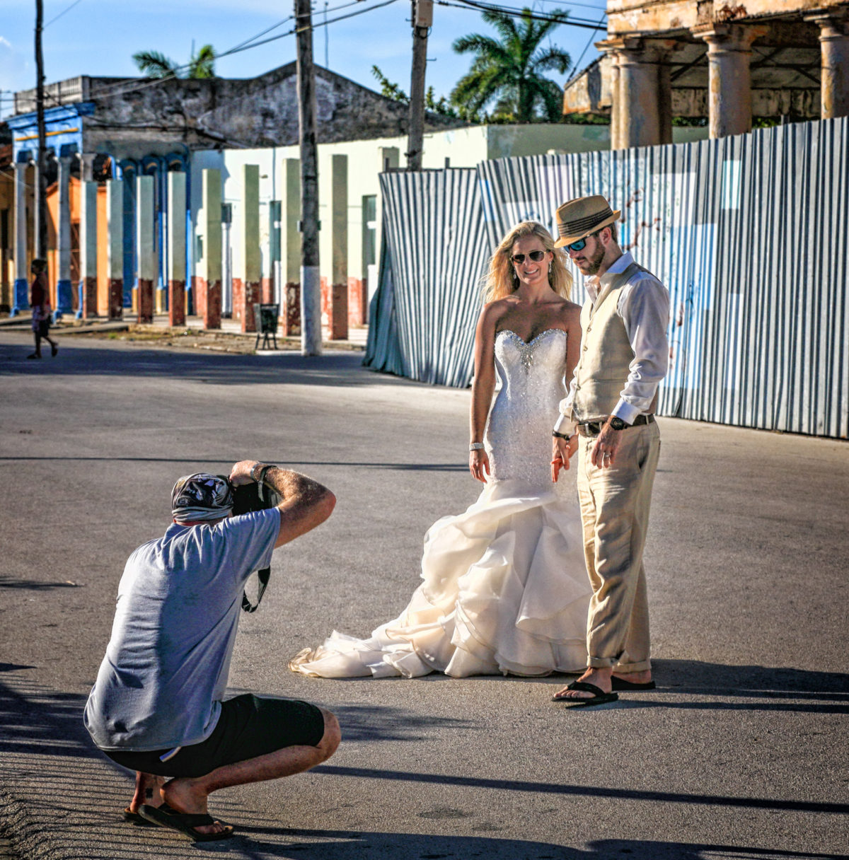 Banff wedding photographer, Troy Burnett on location in Cuba.