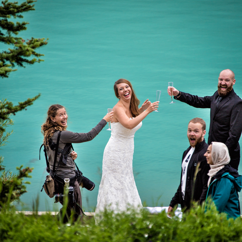 Banff National Park wedding, wedding photographers banff, Burnett Photography