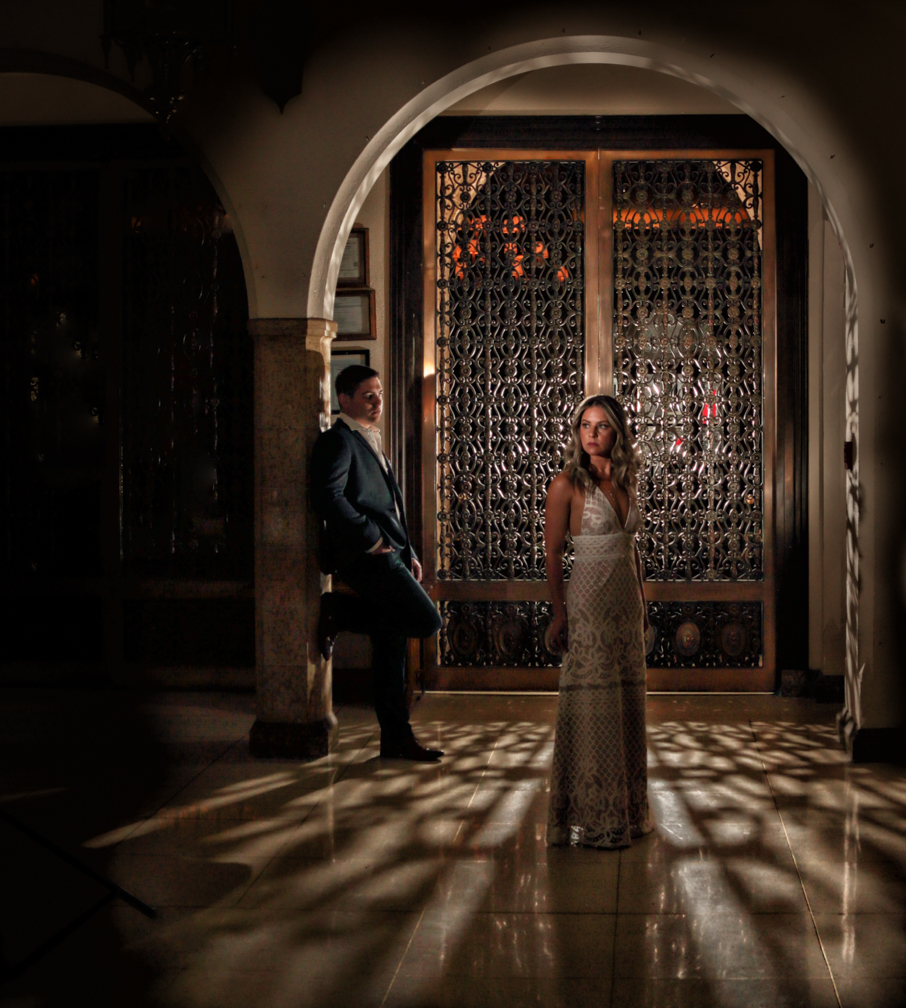 Alhambra Room, Fairmont Banff Springs Engagement Pictures by Banff wedding photographers, Burnett Photography.