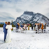 Elopement Banff at Tunnel Mt. Reservoir
