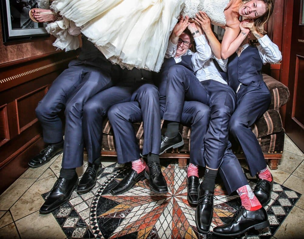 Photo Booth Adds Priceless Entertainment to Wedding Reception