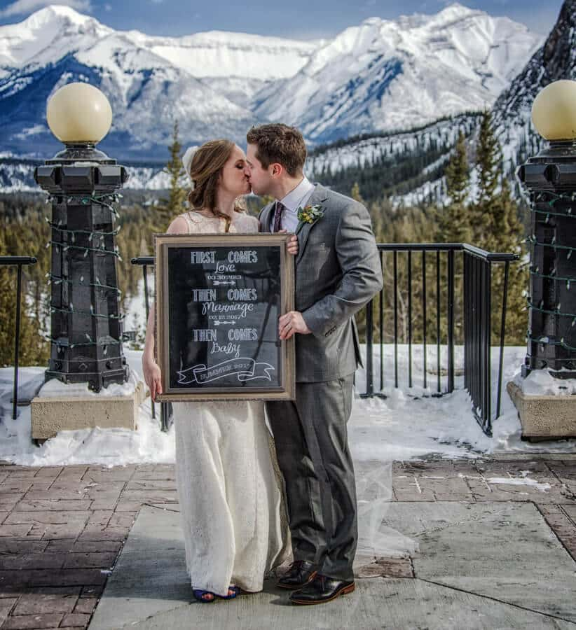 Fairmont Banff Springs Shotgun Wedding